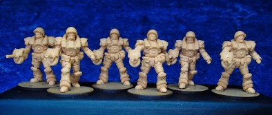 28mm US Armoured Infantry WIP
