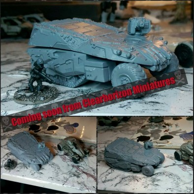 AX-9 Armadillo Armored Personnel Carrier
