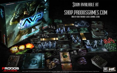 AvP Board Game
