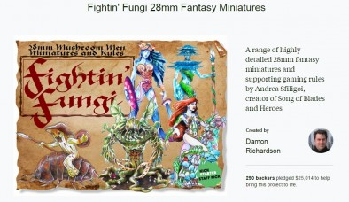 Fighting Fungi Kickstarter