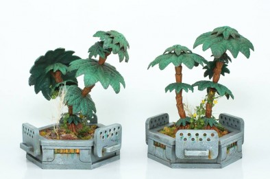 Modular Planters (With Trees)