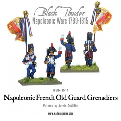Old French Guard Grenadiers