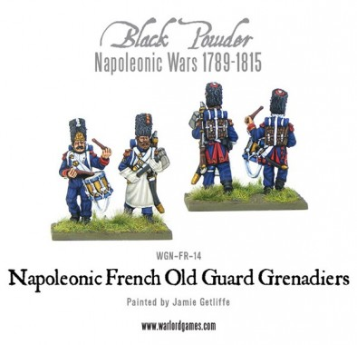 Old French Guard Grenadiers (Axe & Drum)