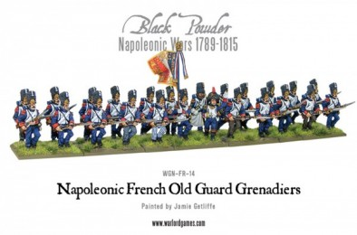 Old French Guard Grenadiers (Full)