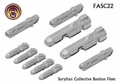 Sorylian Collective Bastion Fleet