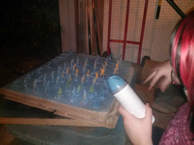 Spraying Risk Soldiers