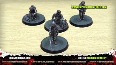 Unboxing: Empress Miniatures' Modern British Infantry