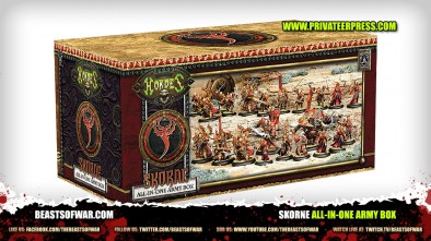 Unboxing: Hordes Skorne All-In-One Army Box