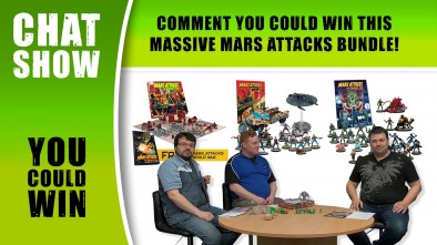 Weekender: Mars Attacks Ready For All Out War!