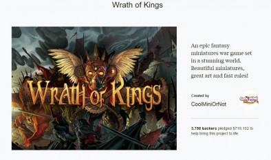 Wrath of Kings Kickstarter