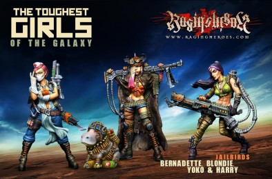 Unboxing: Toughest Girls Of The Galaxy - Jailbirds Character Box
