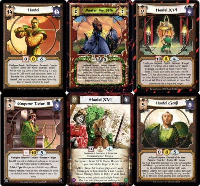 Legend of the Five Rings Cards