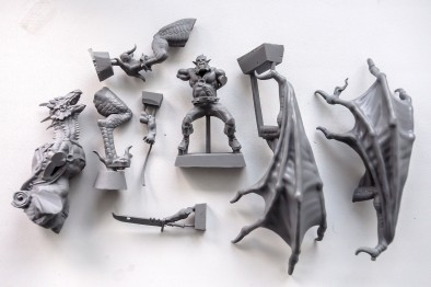 ARM dragon pieces