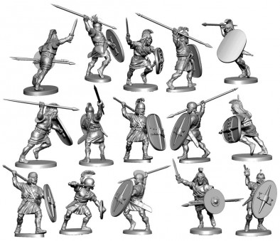 Ancient Spanish Soldiers