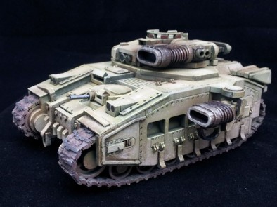 CONQUERER III HEAVY TANK (Front)