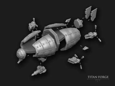 Colossal Zeppelin (Components)