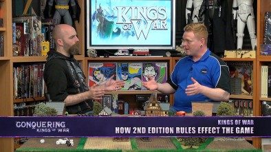 Conquering Kings of War - How 2nd Edition Rules Effect The Game
