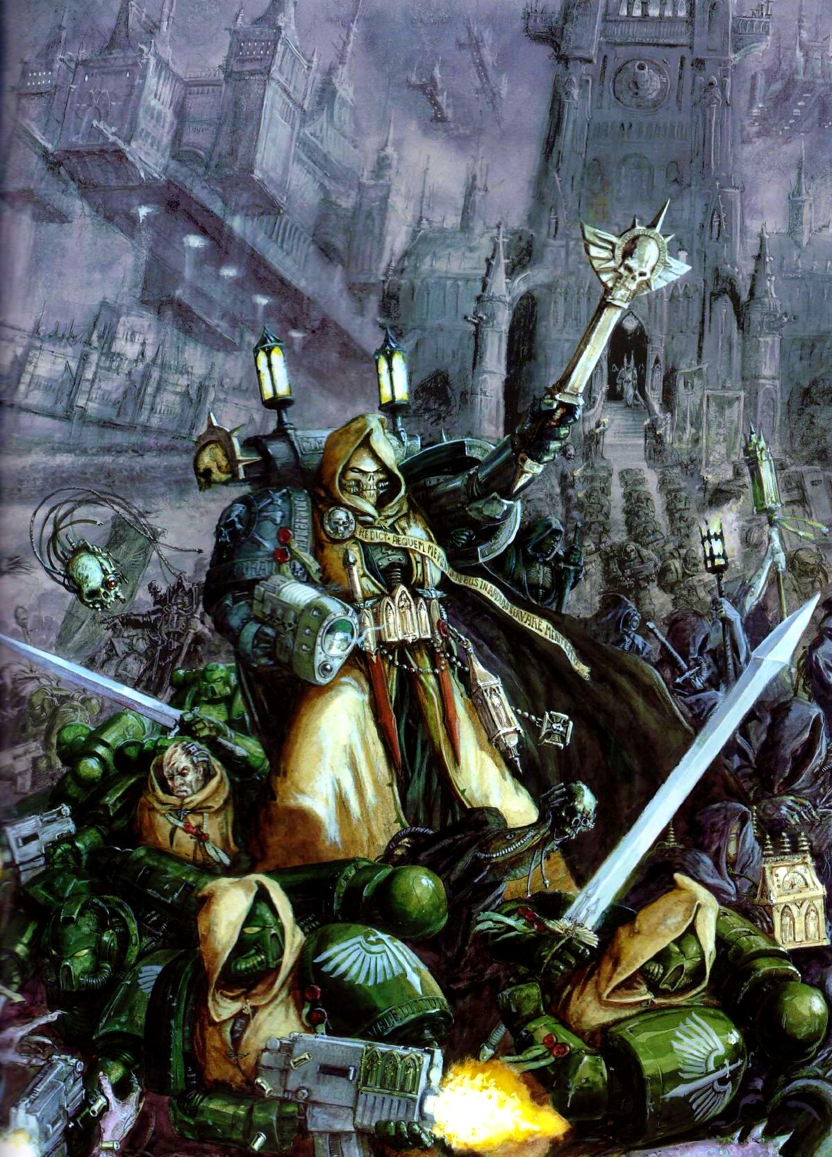 Dark Angels Codex Spotted Next For Warhammer 40,000 – OnTableTop – Home of  Beasts of War