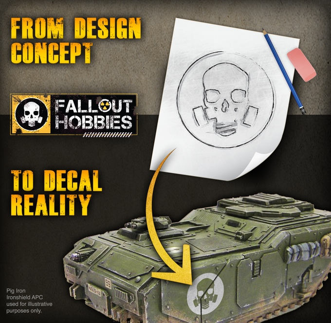Fallout hobbies decals