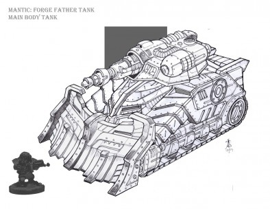 Forge Father Tank