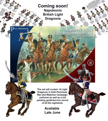 Napoleonic British Light Dragoons (Set)