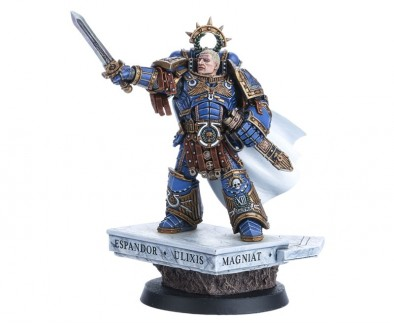Roboute Guilliman Commands The Space Marines From Forge World