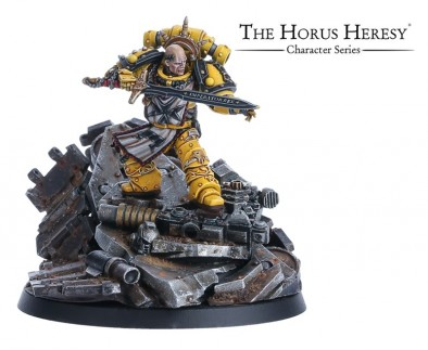 SIGISMUND - FIRST CAPTAIN OF THE IMPERIAL FISTS