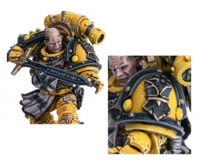 SIGISMUND - FIRST CAPTAIN OF THE IMPERIAL FISTS (Detail)