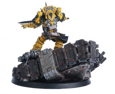 SIGISMUND - FIRST CAPTAIN OF THE IMPERIAL FISTS (Rear)