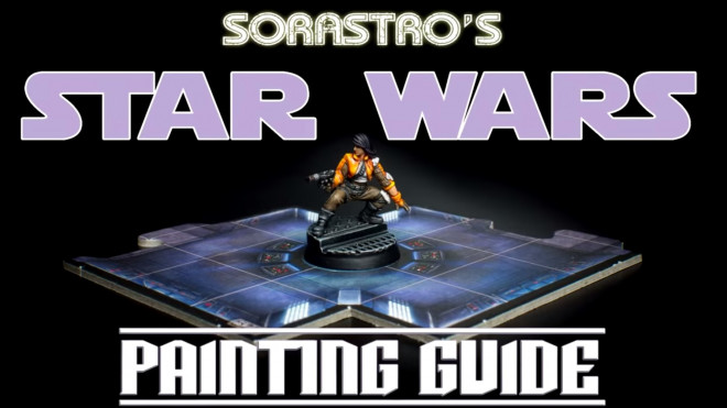 Star Wars Imperial Assault Painting Guide: How To Paint Jyn Odan