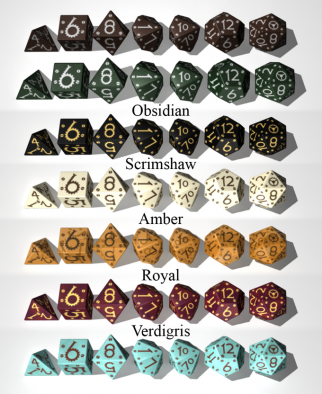 Tinker Dice Colours
