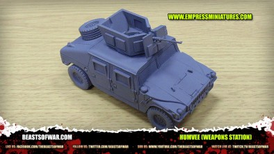 Unboxing: Empress Miniatures' Humvee (Weapons Station)
