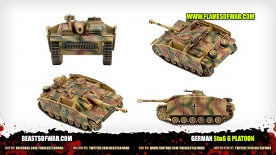 Unboxing: Flames Of War StuG G Platoon