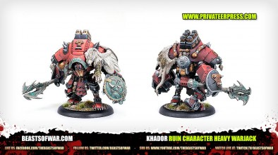 Unboxing: Warmachine - Khador Ruin Heavy Warjack