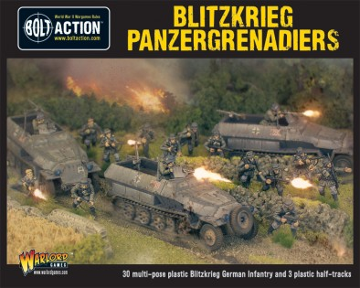 Begin The Blitzkrieg With WWII German Set By Warlord Games