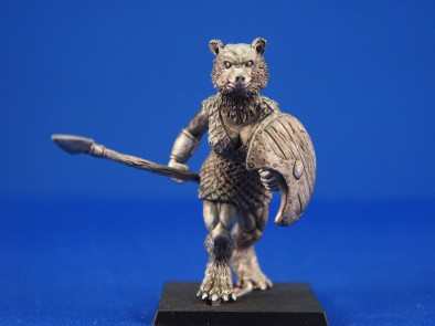 Bear Warrior with shield