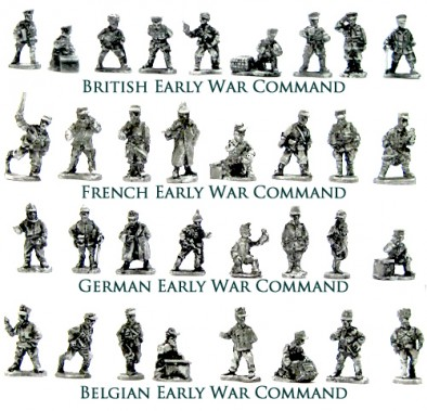 Early War Command Packs