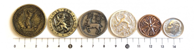 master of coin sizes