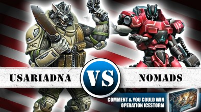 USAriadna Vs Nomads 300pts Battle Report - Part 1