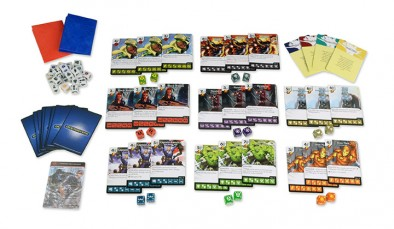 Age of Ultron Cards & Dice