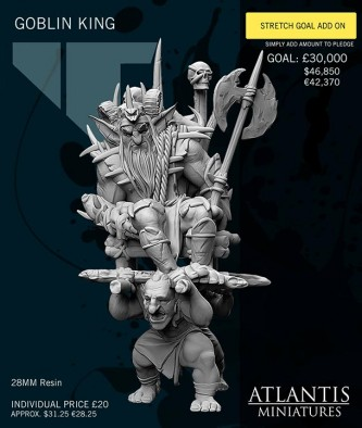 Atlantis Miniatures Goblin King