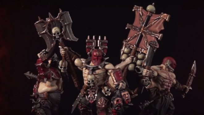 Games Workshop Painting Tutorial: How To Paint Bloodreavers & The Bloodstoker