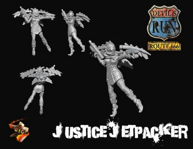 Devils Run Route 666 Justice Jetpacks
