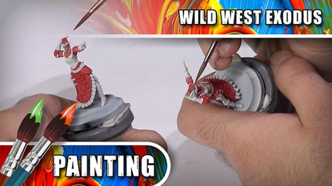3 Colours Up: How To Paint Wild West Exodus' Lucinda Loveless – Part One