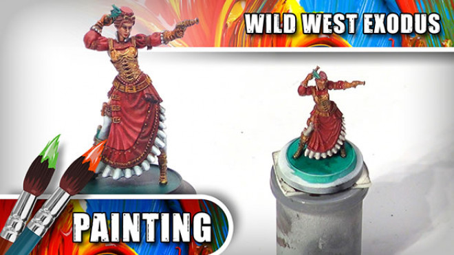 3 Colours Up: How To Paint Wild West Exodus' Lucinda Loveless Part Two