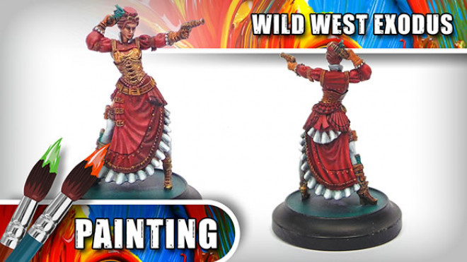 3 Colours Up: How To Paint Wild West Exodus' Lucinda Loveless Part Four