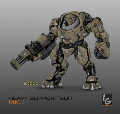 Heavy Support Suit