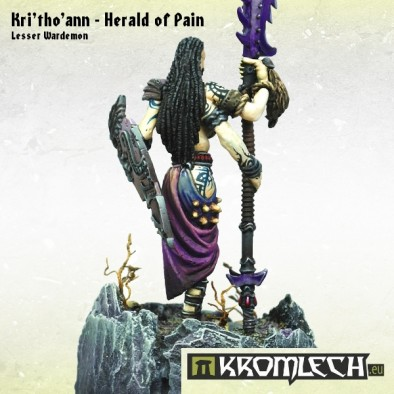 Kri'tho'ann - Herald of Pain (Rear)