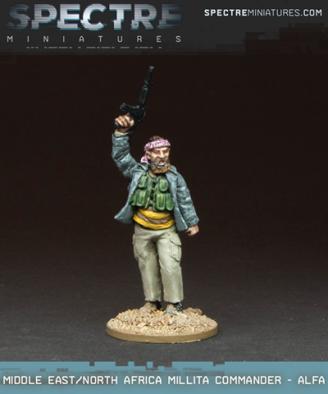Middle East - North African Militia Commander