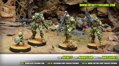 Game: Infinity Army: Haqqislam Model(s): Janissaires